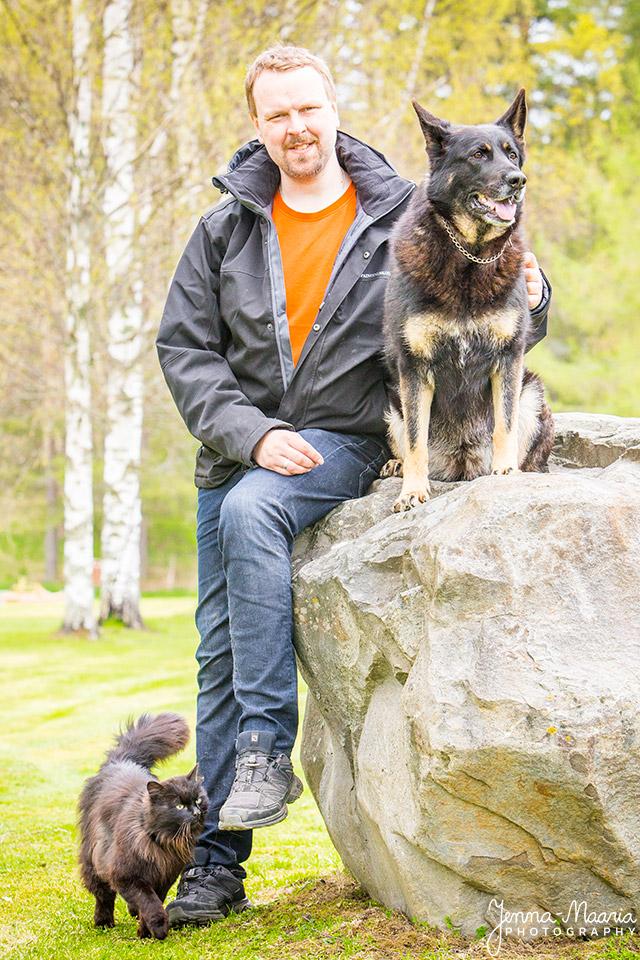 Koirankouluttaja, koiran koulutus, ongelmakoirakoulutus